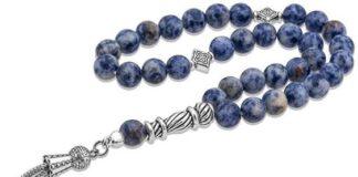 Hematite prayer beads also known as tasbih