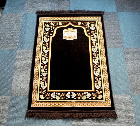 brown prayer rugs