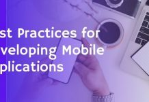 best practices for developing mobile applications