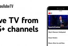 Youtube Live TV