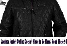 Buy Leather Jacket Online
